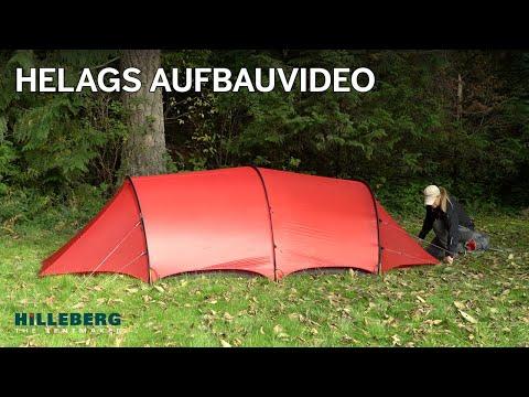 Hilleberg Helags Aufbauvideo