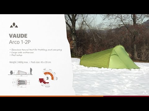 Instruction Manual VAUDE Arco 1-2P | VAUDE