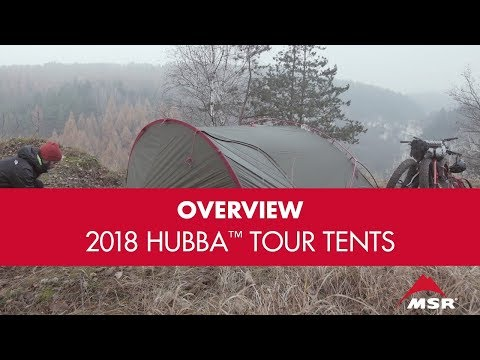 New for 2018: MSR Hubba™ Tour Tent Series
