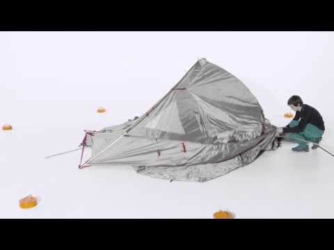 Badawi Long 6 P Set up Tutorial | VAUDE