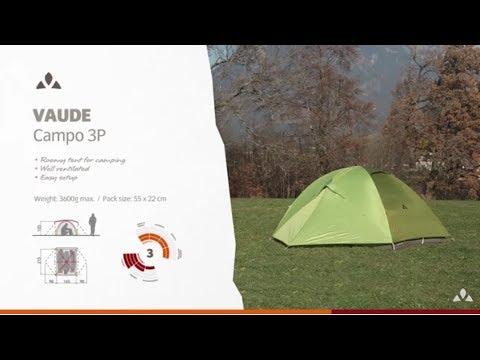 Instruction Manual VAUDE Campo 3P | VAUDE