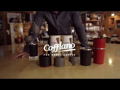 CAFFLANO® KLASSIC, Award-sweeping All-in-one Portable Pour-over Coffee Maker (カフラーノ® クラシック)