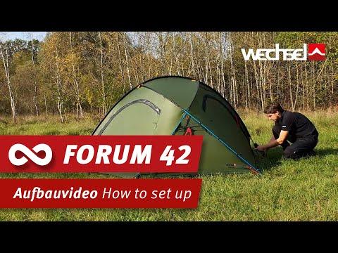 WECHSEL Forum 42 Aufbau