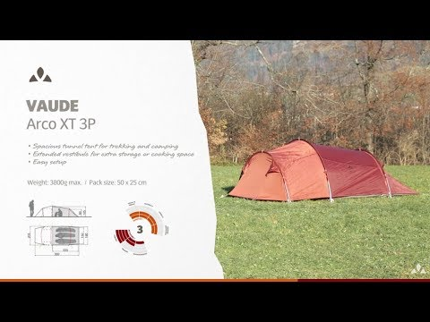 Instruction Manual VAUDE Arco XT 3P | VAUDE