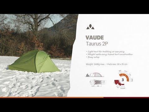 Instruction Manual VAUDE Taurus 2P | VAUDE