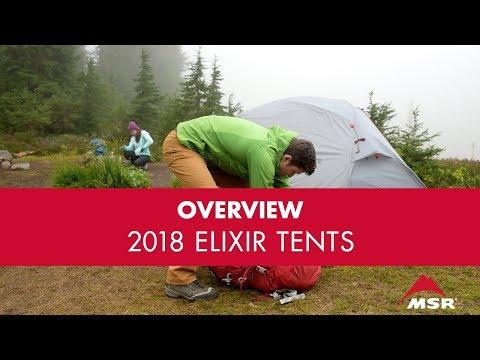 2018 Updates: MSR Elixir Tent