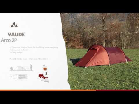 Instruction Manual VAUDE Arco 2P | VAUDE