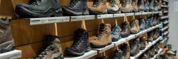 Das Schuhsortiment in Brauncshweig