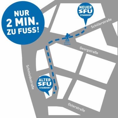 SFU-Umzug-Karte