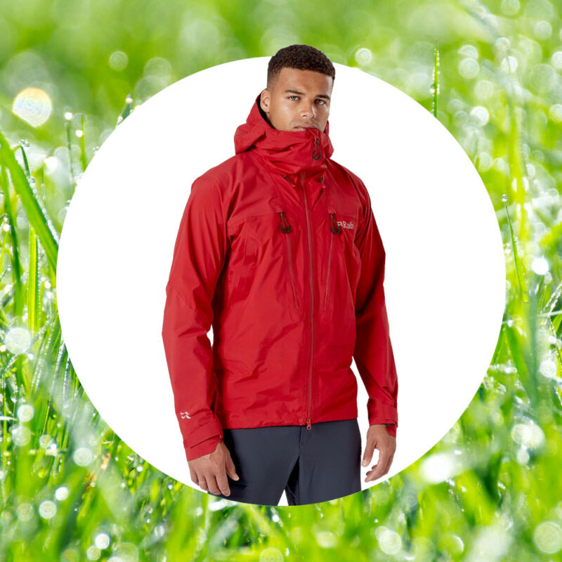 Rab M Latok GTX Jacket ascent red_wbg