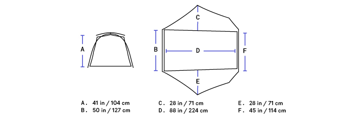 Nemo_Dragonfly Bikepack 2P_floorplan
