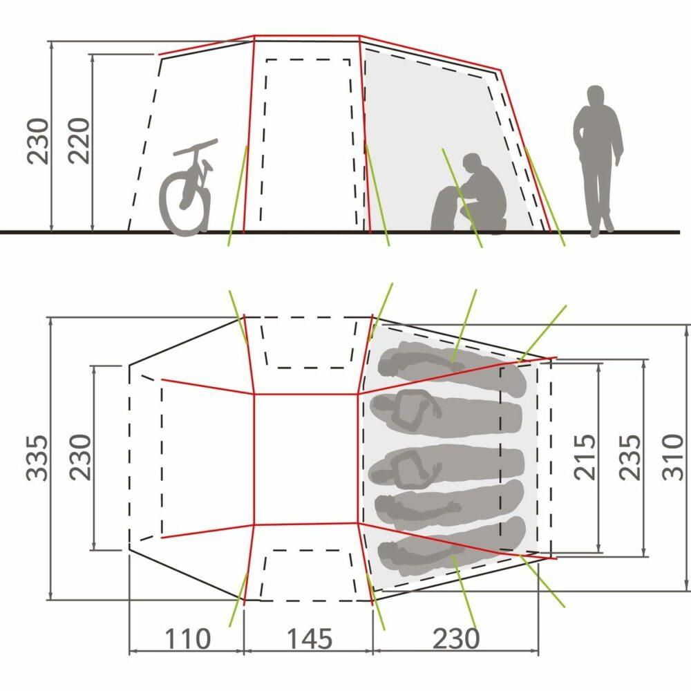 Vaude_DriveVanXT5P_sand_floorplan